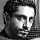 female gazing at: Riz Ahmed