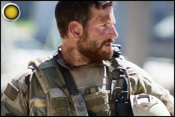 American Sniper yellow light