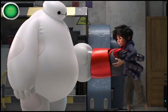 Big Hero 6 green light