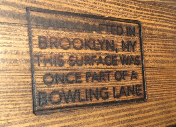 bowlingtable