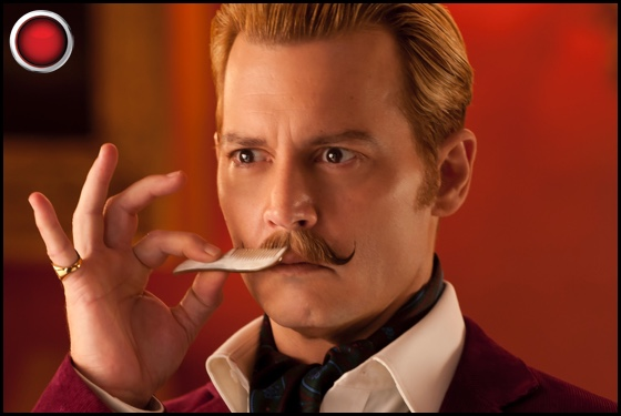 Mortdecai red light