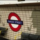 London photo: Baker Street tube station