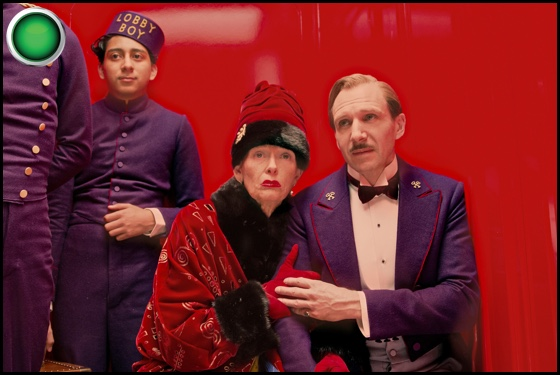 The Grand Budapest Hotel green light