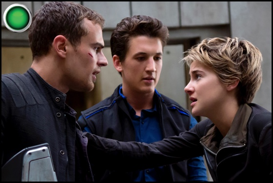 Divergent Series Insurgent green light Miles Teller Theo James