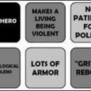 male protagonist bingo
