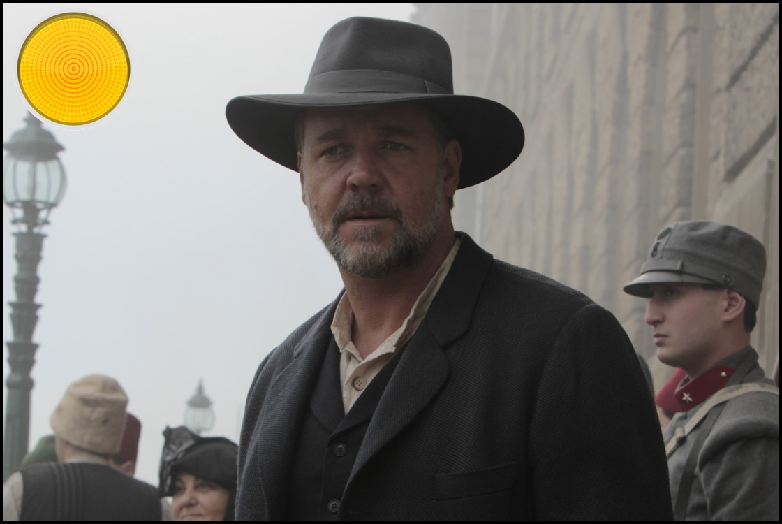The Water Diviner yellow light