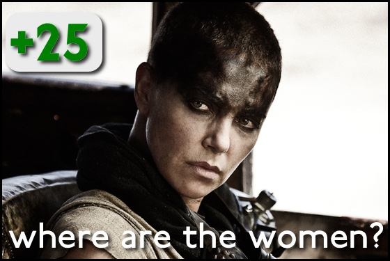Where Are the Women Mad Max Fury Road
