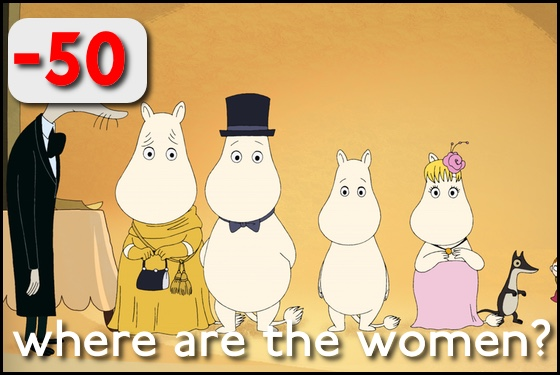 Where Are the Women Moomins on the Riviera