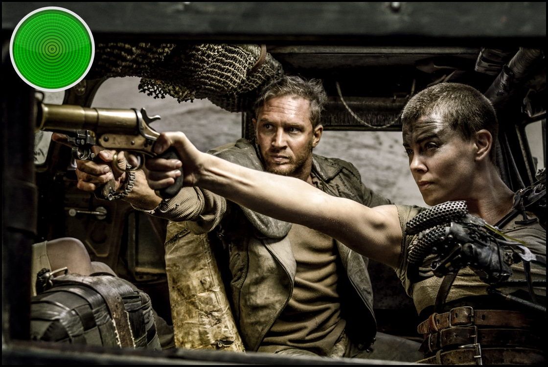 madmaxfuryroad Borderlines and Max Max, Feminine Road