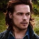 female gazing at: Sam Heughan