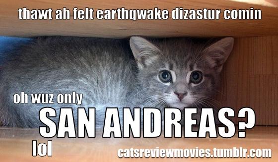 Cats Review Movies San Andreas