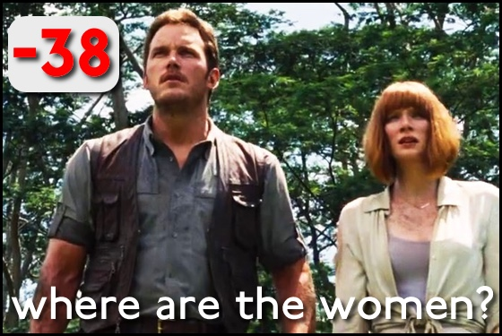 Where Are the Women? Jurassic World