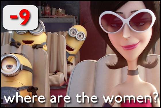 Where Are the Women? Minions