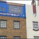 London photo: upside down building