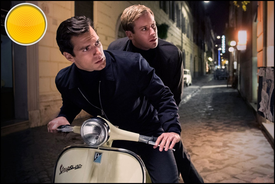 The Man from U.N.C.L.E. yellow light