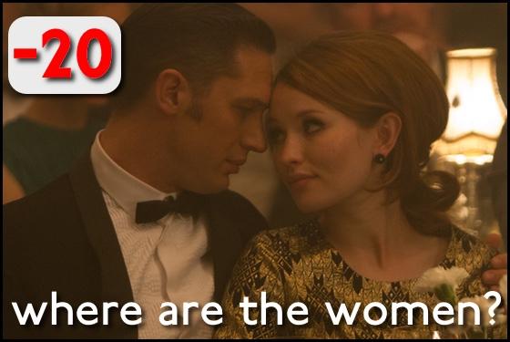 Where Are the Women? Legend