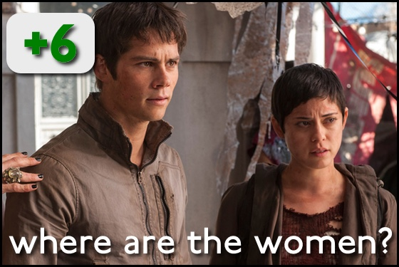 Where Are the Women? Maze Runner The Scorch Trials