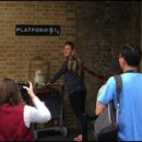 London photo: crowded Platform 9 3/4