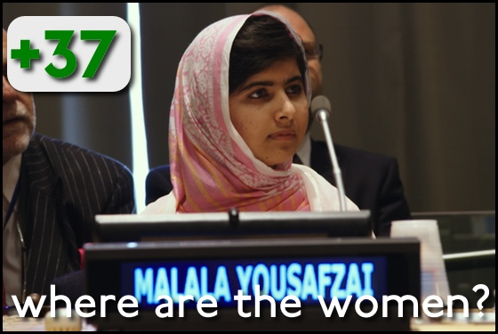 Where Are the Women? He Named Me Malala