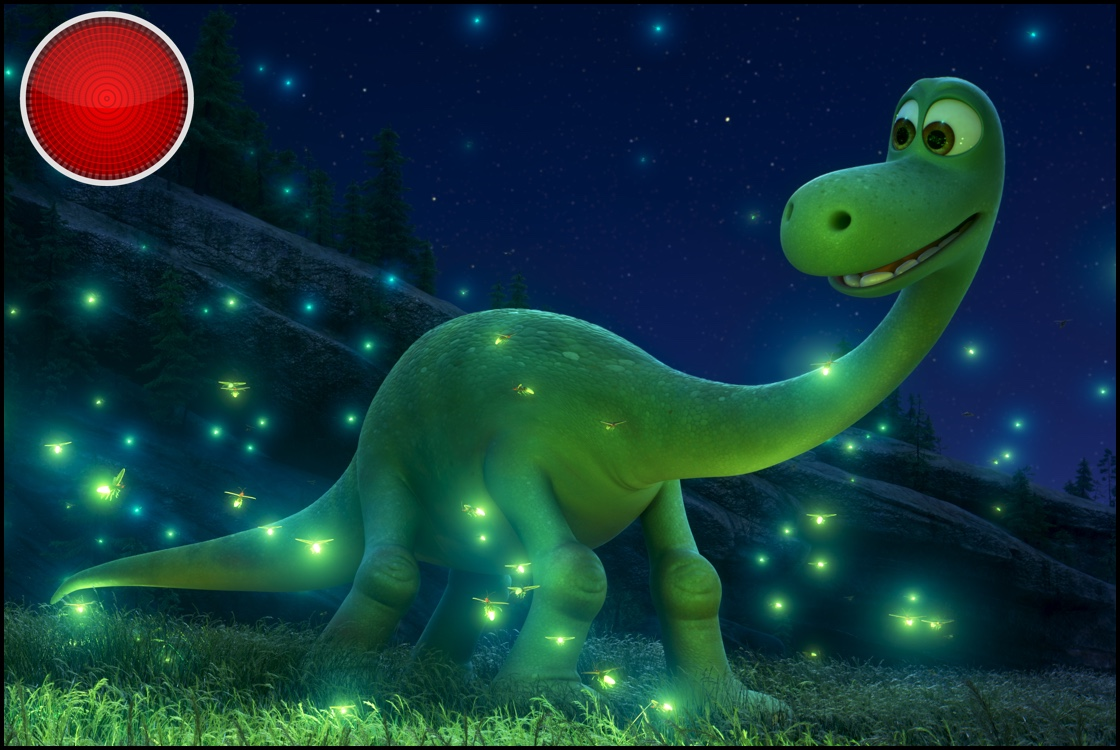 The Good Dinosaur red light