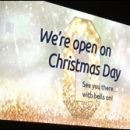 London photo: Odeon Christmas