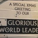 "London photo: a message for our ""glorious world leaders"""