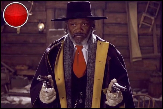 The Hateful Eight red light