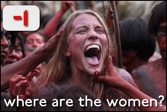 Where Are the Women? The Green Inferno