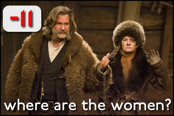 Where Are the Women? The Hateful Eight