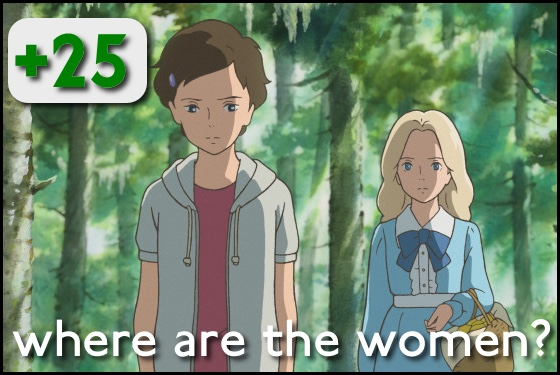 Where Are the Women? When Marnie Was There