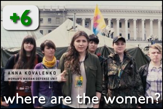 Where Are the Women? Winter on Fire Ukraine's Fight for Freedom