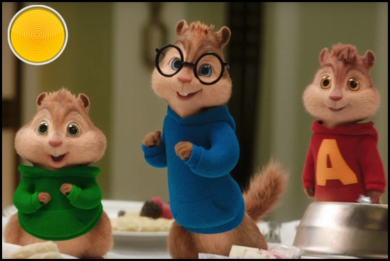 Alvin and the Chipmunks The Road Chip yellow light