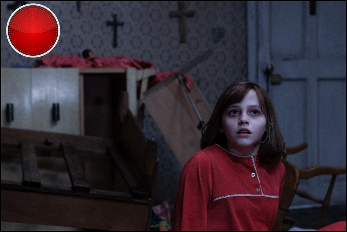 The Conjuring 2 red light