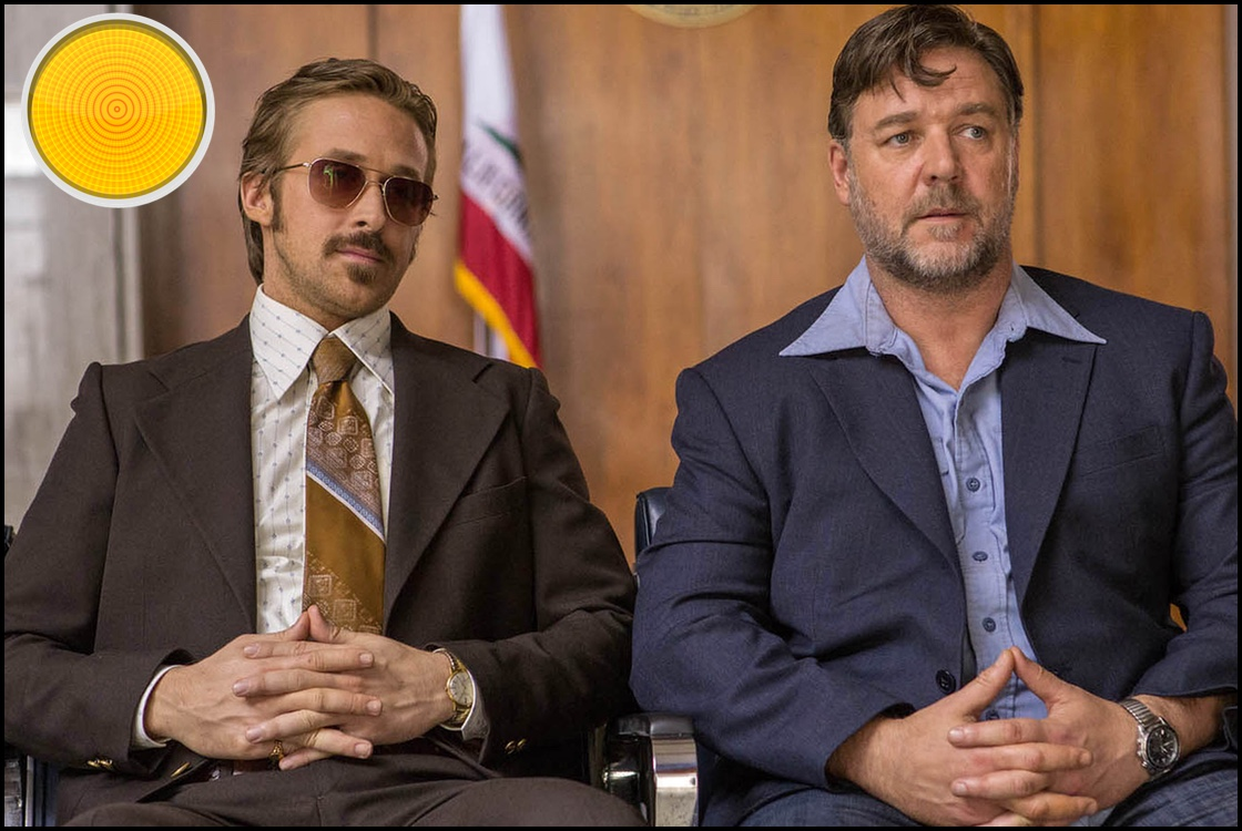 The Nice Guys yellow light