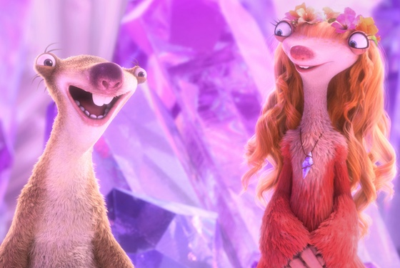 Sid the Sloth is stupid, annoying, clumsy, and smelly. Of course he rates the love and devotion of a beautiful girlfriend.