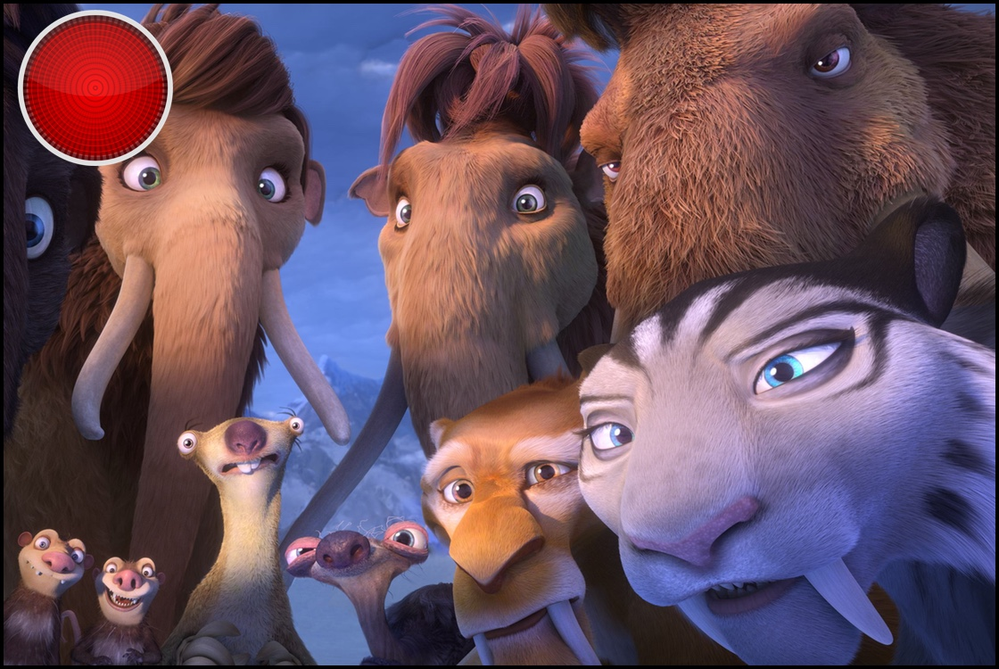 Ice Age Collision Course red light