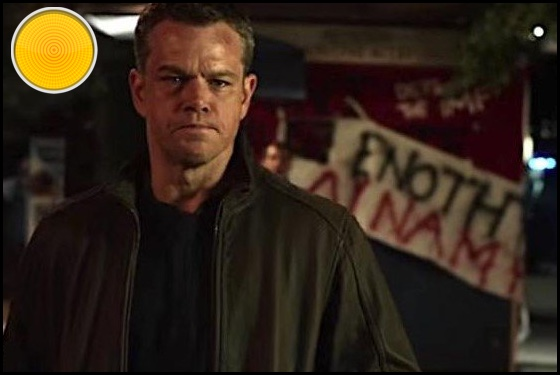 Jason Bourne yellow light