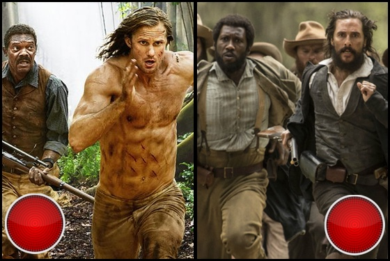 The Legend of Tarzan and Free State of Jones red light