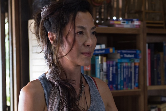 This alt-version of Mechanic: Resurrection probably would have Michelle Yeoh as Alba's mystically exotic and wise sensei, so it wouldn't have been all that progressive, actually...