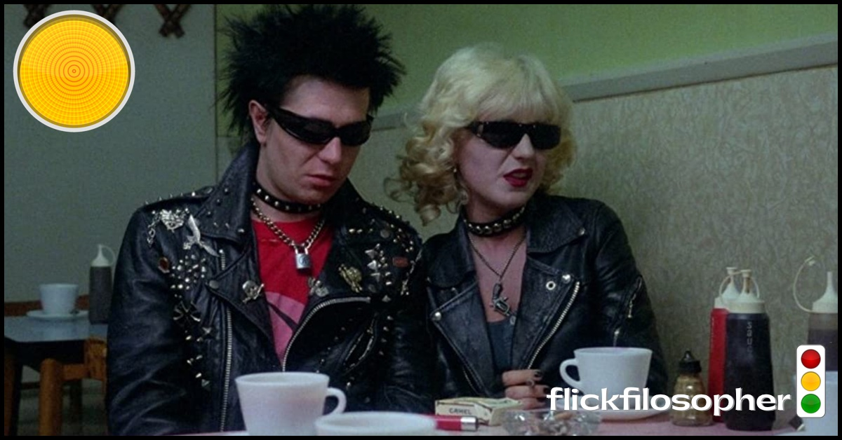 Sid and Nancy yellow light