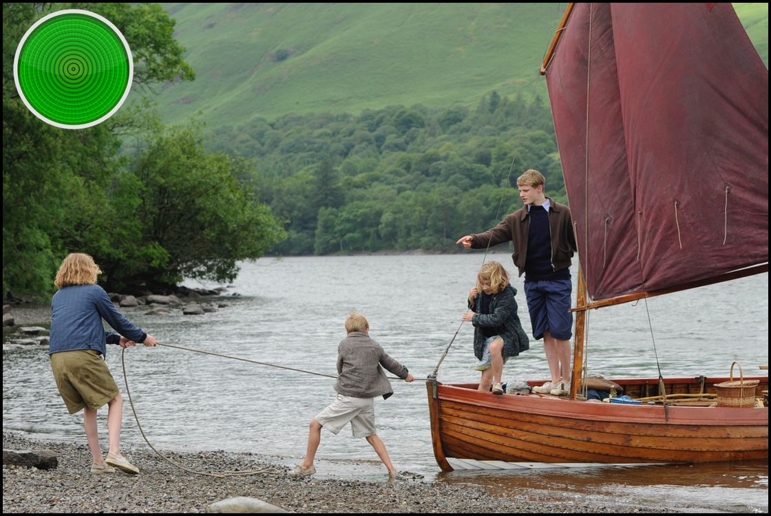 Swallows and Amazons green light