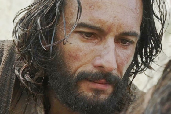 Smokin' hot Rodrigo Santoro Jesus because religious fervor isn't thwarted and redirected sexual desire or anything. Everything is fine.