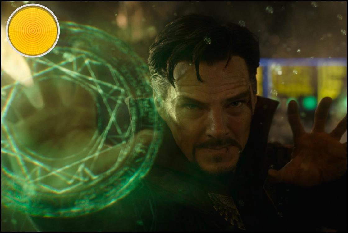 Doctor Strange yellow light