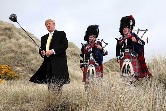 Scotland: just another nation for Trump to exploit. Now watch this drive...