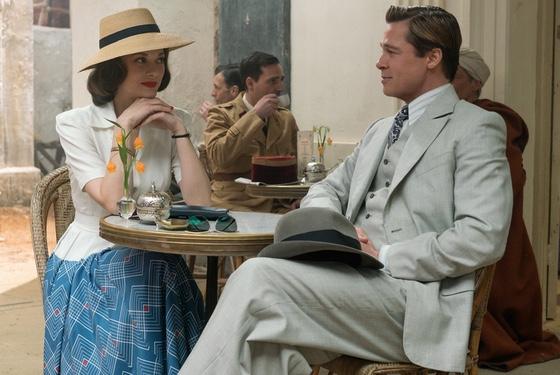 Allied Brad Pitt Marion Cotillard