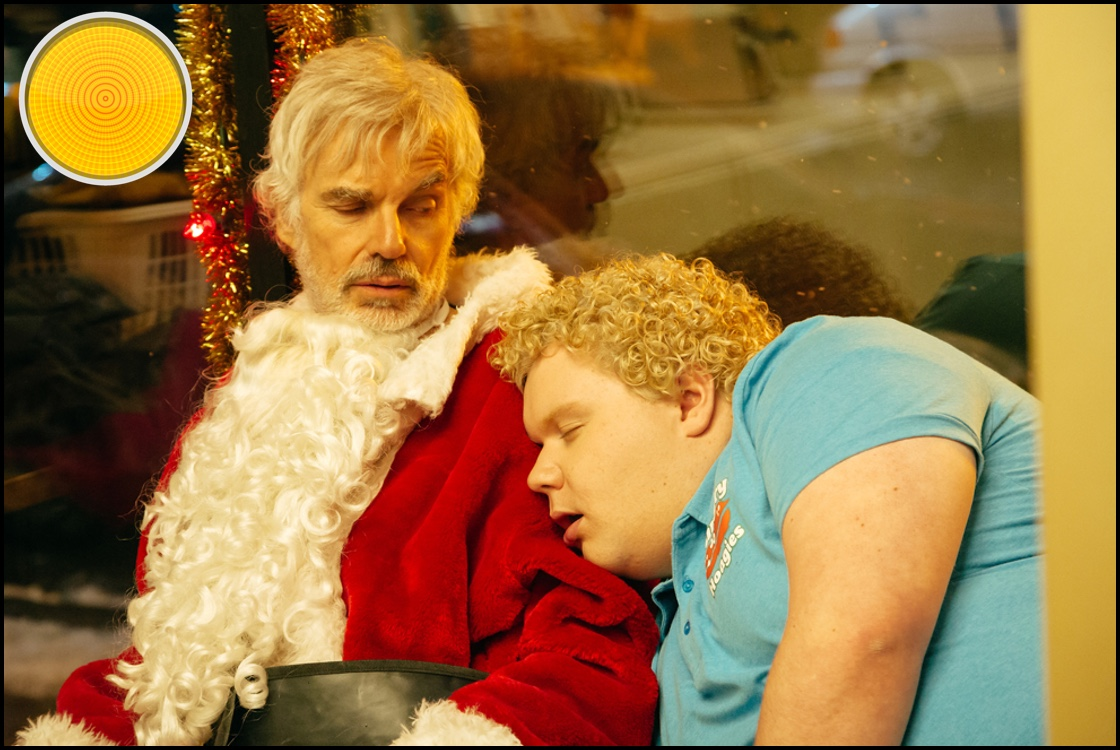 Bad Santa 2 yellow light