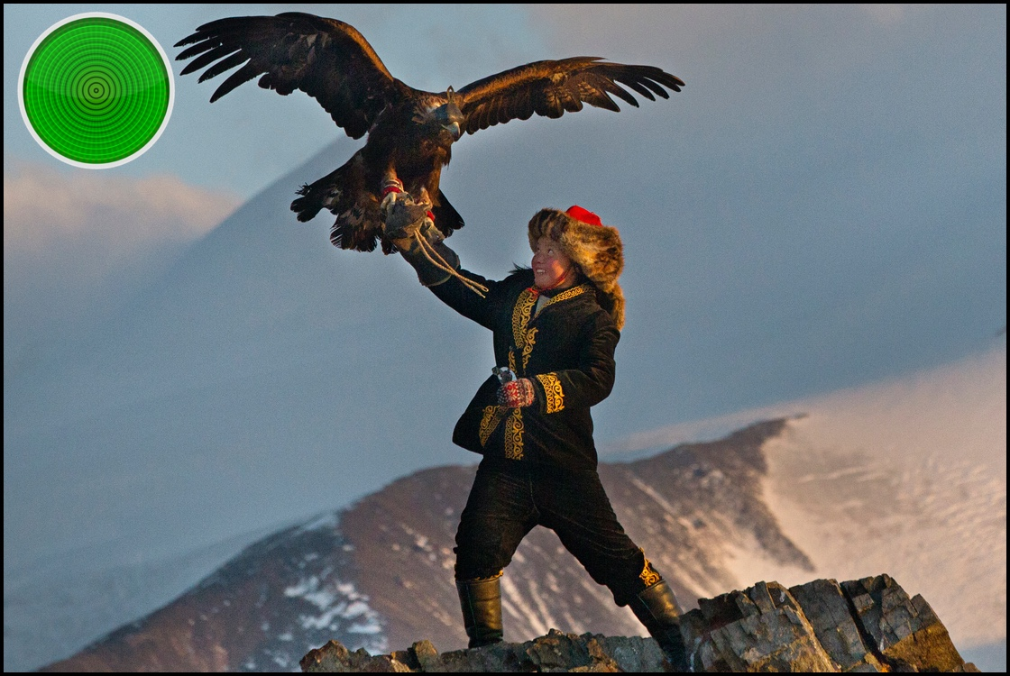 The Eagle Huntress green light