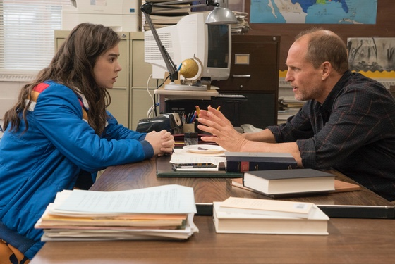 The Edge of Seventeen Hailee Steinfeld Woody Harrelson