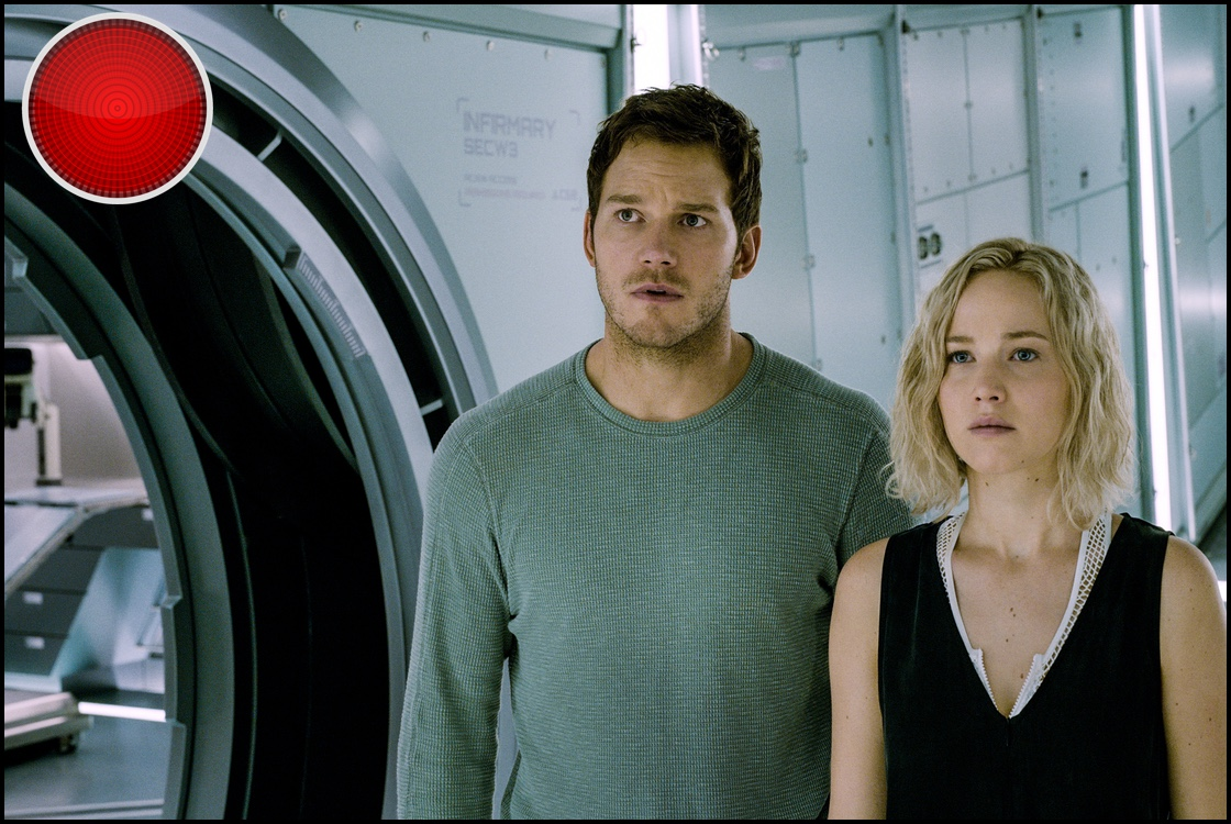 Passengers movie review lost in sexist space for Passengers spaceship