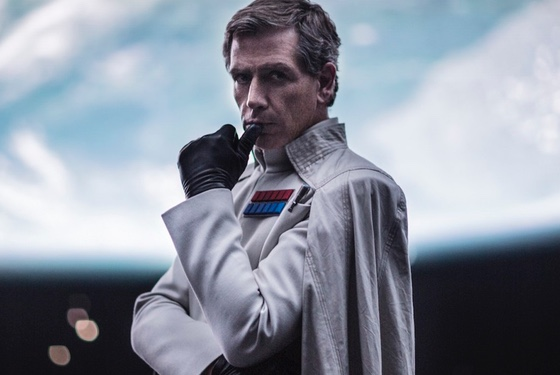 """I'm Orson Krennic, and I buy all my capes at Evil Supply Unlimited. Only on the Death Star, level 14, section 3. Closed on Sundays."""